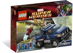 Lego Super Heroes Marvel Loki's Cosmic Cube Escape 6867 New Sealed In Box Avengers Shield, Marvel Avengers, Toys R Us, Legos, Lego Loki, Lego Clones, Geek Toys, Lego Marvel Super Heroes, Lego For Kids