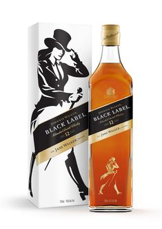 Johnnie Walker Black Label Jane Whisky (it is woman's month)