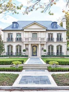 Classic French Manor House