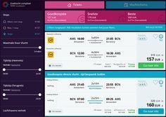 Momondo is een website waar je snel en makkelijk vliegtickets goedkoop tickets kunt vergelijken. Door in te vullen waar je vandaan wilt vliegen, waar je heen wilt, vertrek en aankomst datum ...