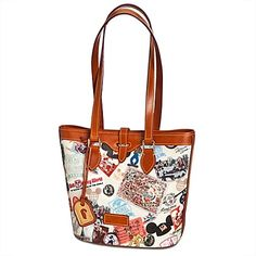 disney dooney and bourke | Disney Dooney And Bourke Bag - Walt Disney World 40th Anniversary ...