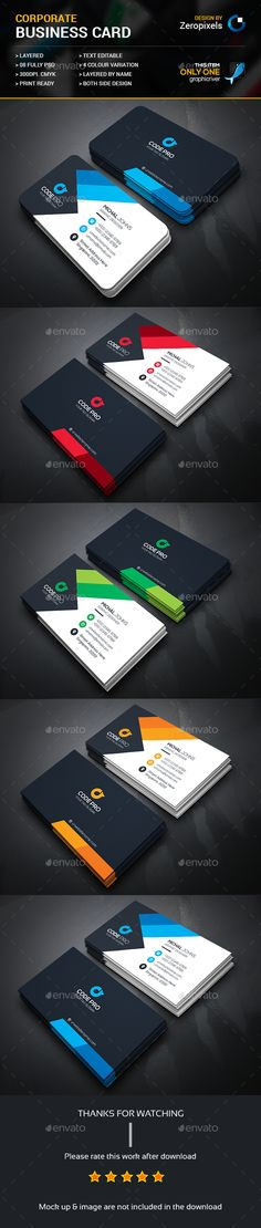 Business Card — Photoshop PSD #business card #white • Available here → https://graphicriver.net/item/business-card/15324946?ref=pxcr