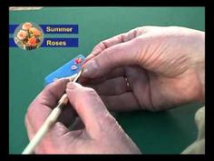 Making miniature roses tutorial video.