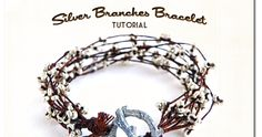 Happy, Beady New Year!   I'm sharing my first jewelry tutorial of the year. Silver Branches Bracelet  is my Ornamentea.com designer contr...