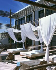 Deseo, Playa del Carmen, Mexico--might stay here... LOVE this boutique hotel line! #designhotels #habita