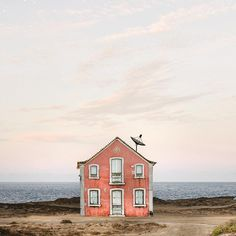 "It's ironic how a series of photographs titled ""Lonely Houses"" can bring a huge smile to one's face… Manuel Pita, or Sejkko, as he's known on the web, documents traditional houses of Portugal on his Instagram account. Standing alone amidst a background of blue skies and rolling landscapes, the vibrant dwellings are photographed (and edited) …"