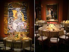Moira & Bill's Weddding: Dinner in the Rotunda of the Historic Landmark Building at the Pennsylvania Academy of the Fine Arts | Peach Plum Pear Photo