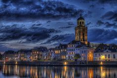 Deventer skyline (city in the Netherlands)
