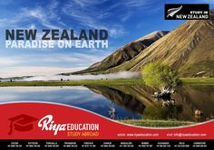If you have a dream for abroad education, New Zealand is one of the best options. New Zealand is a highly developed country with an economy that's well dominated by its vibrant tourism and the export industry. The country holds its own among other more popular western nations with respect to economic freedom, quality of life, and its growth in the health and education sectors. For studying abroad in NZ get in touch with Riya Education, Overseas education consultants.