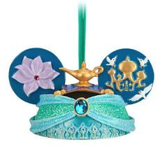 Disney Parks Jasmine from Aladdin Mickey Mouse Ears Hat Ornament NEW RELEASE Disney http://www.amazon.com/dp/B00DYJQQZM/ref=cm_sw_r_pi_dp_GzyVtb1V33EZVD96