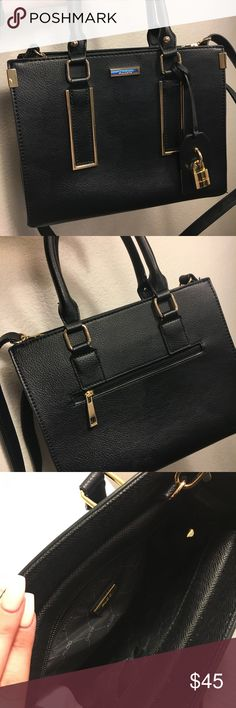 a06b067dc26 Aldo Black Thalessi Satchel Used bag in good condition! Perfect for  everyday use! Aldo
