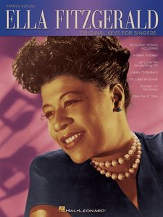Ella Fitzgerald - Original Keys for Singers (Songbook) Harlem Renaissance People, Blues Artists, Music Artists, Sheet Music Book, Music Books, Book Club Menu, Embraceable You, Patsy Cline, Vintage Black Glamour