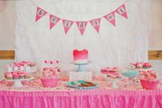 Project Nursery - Pink Ombre 1st Birthday Party