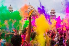 """Holi Sms in English Shayari Holi! It's Holi ! let's enjoy this Holi with unbound cheers! March 2018 is that desired day. Holi is known as the """"The festival of color"""" or """"The festival of love"""". Here you can find Holi Sms in English Shayari Holi Party, We Color Festival, Holi Festival Of Colours, Spring Festival, Indian Color Festival, Holi Colors, Diwali Festival, Holi Wishes Messages, Happy Holi Wishes"""