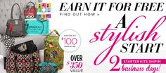 A stylish start. Starter kits ship in 2 business dasy! Earn it for FREE. Click here to find out how.