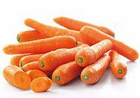 Karottenkonzentrat  Karotten haben einen niedrigen Kaloriengehalt, sind jedoch gleichzeitig reich an Vitaminen (A, B1, B2, B3, B6, B9, B11, C, E), Mineral- (Kalium, Kalzium, Magnesium, Eisen) und Ballaststoffen. Besonders wertvoll sind die enthaltenen Carotinoide, die im Körper in Vitamin A umgewandelt werden. Sie haben zahlreiche gesundheitsfördernde Eigenschaften und wirken anti-oxidativ. Auch werden verstärkt Studien über die Wirkungen gegen verschiedene Krebsarten durchgeführt. Vitamin A, Magnesium, Carrots, Vegetables, Food, Fiber, Minerals, Weight Loss, Health