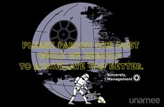 Imperial Pardon T-Shirt $11 Star Wars tee at Unamee today only!