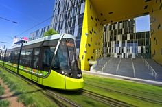 THE French city of St Etienne has selected CAF in a contract to supply 16 LRVs for the city's light rail network, which consists of three lines and 35 stations. The vehicles are scheduled for delivery in spring Trains, Tramway, Saint Etienne, Light Rail, Rolling Stock, Public Transport, Around The Worlds, France