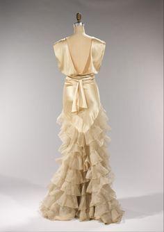 Evening Dress, Irene (American): ca. 1935, American, silk.