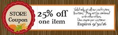 Coupons - The Wood Connection Blog