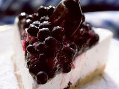 Rezept: Frischkäse-Blaubeer-Kuchen