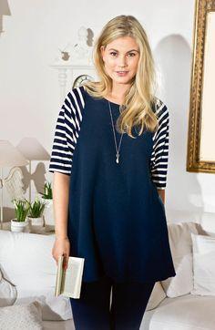 Raglan Sleeve Tunic (Plus Size) 05/2015