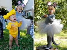 itty luxe: City Mouse Big Cheese, sibling costume @Jacky Jackson This would be cute for the girls! lol