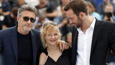 Paweł Pawlikowski, Joanna Kulig and Tomasz Kot - Cannes