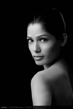 headshot idea- Freida Pinto
