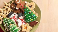 Galletas de jengibre y canela para Navidad