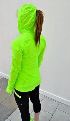 This is a great idea for a running hoody!! But if it were raining your hair would still get wet....but I guess it could help with the wind!