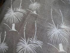 Screen Printed Linen Tea Towel. $16.00, via Etsy.