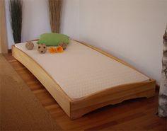 bodennahes Einzelbett und Stapelbett PIPPO