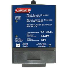 Coleman 7A Solar Charge Controller, Multicolor