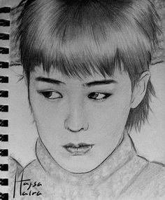 """Kwon Jiyong Fanart - """"Welcome"""" Big Bang Series 3/5  I was so busy this last few days that it took me longer to finish this drawing >﹏< Ahh GD is so cute in this pic~ Hope you like it!  Reference pic from YG Entertainment . . . #kwonjiyong #jiyong #gdragon #gd #bigbang #bigbangfanart #kpopfanart #koreanfanarts #fanart #drawing #pencil #art #sketch #권지용 #지용 #지드래곤 #지디 #빅뱅 #빅뱅팬아트 #팬아트 #그림 #스케치 #아트"""