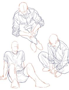 Ideas for drawing people sitting pose reference Body Drawing, Drawing Base, Manga Drawing, Drawing Sketches, Art Drawings, Drawing Tips, Anatomy Drawing, Drawing Techniques, Anime Poses Reference