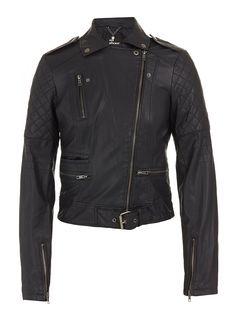 Tara biker jacket Black
