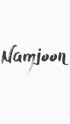 Find images and videos about bts, text and rap monster on We Heart It - the app to get lost in what you love. Namjoon, Jimin Jungkook, Bts Bangtan Boy, Foto Bts, Kpop, Saranghae, Bts Name, W Two Worlds, K Wallpaper