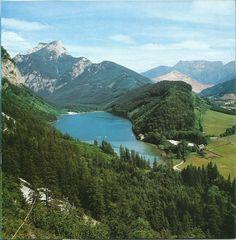 ....#hiking around #Leopoldsteiersee (Lake Leopoldstein), #Eisenerz, Austria