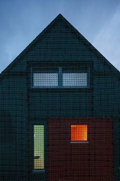 Home on Texel, Den Burg, 2014 - Benthem Crouwel Architects #facade #cladding #house