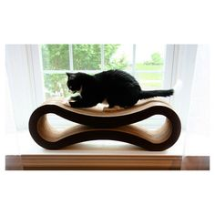 Found it at Wayfair - Deluxe Cat Scratcher Lounge in Brown