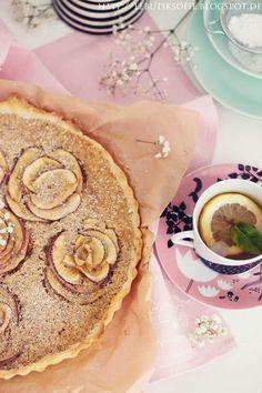 Rosen Apfel Tarte