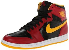 half off 2275f 21d55 Nike Mens Air Jordan 1 Retro High OG Basketball Shoes 1984 launch, Nike  Jordan named to the first pair of shoes, the side of the shoe retains Nike  logo on ...