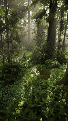 Fullhd Wallpapers, Gaming Wallpapers, Fantasy Places, Fantasy World, Apocalypse Landscape, The Lest Of Us, Apocalypse Aesthetic, Theme Forest, Last Of Us