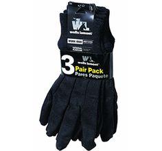 Wells Lamont 508LF Cotton Gardening Glove