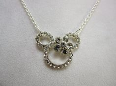 Girls Minnie Mouse Necklace Disney Handmade Little Girls, Girls, and Teens Jewelry