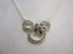 Girls Minnie Mouse Necklace Disney Handmade Little Girls, Girls, and Teens Jewelry
