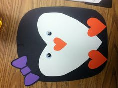 Penguin craft...for Penguin day in April