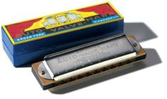 Hohner 105 Auto Valve Harmonica, Minor Bb by Hohner Inc, USA. $37.76. The Hohner 105/40 Auto Valve Harmonica gives you greater volume and blowing ease. 10 double holes and 40 reeds are housed in a wood comb between durable chromeplated covers.