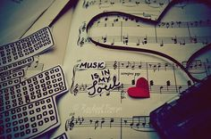 cuteness, heart, letters, love, music
